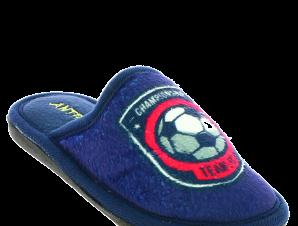 ANTRIN Αγορίστικα Παντοφλάκια SPORTS FOOTBALL Μπλε – Μπλε – SPORTS FOOTBALL BLUE-ANTRIN-blue-28/4/10/60