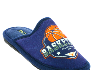 ANTRIN Αγορίστικο Παντοφλάκι SPORTS BASKETBALL Μπλε – Μπλε – SPORTS BASKETBALL BLUE-ANTRIN-blue-28/4/10/60