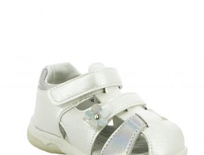 IQKIDS Κοριτσίστικο Πέδιλο MARY-140 Λευκό – Λευκό – MARY-140 WHITE-IQKIDS-white-19/4/5/89