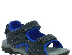 ANTRIN Αγορίστικο Πέδιλο OPEN-140 Μπλε – Μπλε – OPEN-140 NAVY-IQKIDS-blue-36/4/10/81