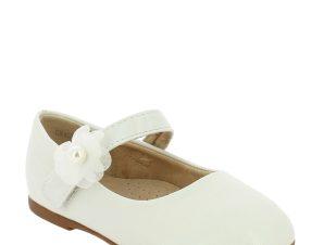 IQKIDS Κοριτσίστικη Μπαλαρίνα GRACE-140 Λευκό – Λευκό – GRACE-140 WHITE-IQKIDS-white-19/4/5/89