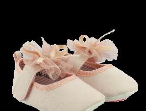 IQSHOES Μπαρέτες Νεογέννητο Κορίτσι DIANA-140 Ροζ – Ροζ – DIANA-140 PINK-IQKIDS-pink-16/4/12/261