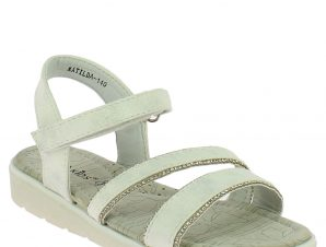 IQKIDS Κοριτσίστικο Πέδιλο MATILDA-140 Λευκό – Λευκό – MATILDA-140 WHITE-IQKIDS-white-30/4/5/62