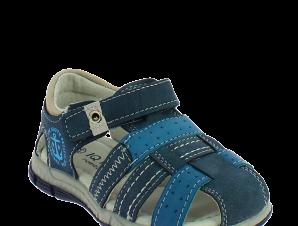IQKIDS Αγορίστικο Πέδιλο ALONSO-140 Μπλέ – Μπλε – ALONSO-140 NAVY-IQKIDS-blue-22/4/10/71