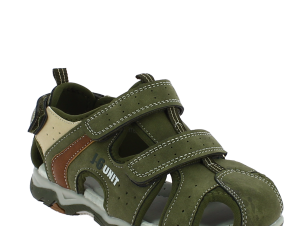 IQKIDS Αγορίστικο Πέδιλο PORTER-140 Χακί – Πράσινο – PORTER-140 CHAKI-IQKIDS-green-29/4/59/61
