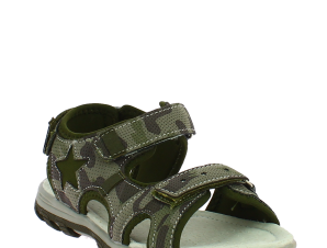 IQKIDS Αγορίστικο Πέδιλο POWER-140 Χακί – Πράσινο – POWER-140 CHAKI-IQKIDS-green-29/4/59/61