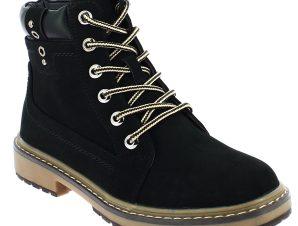 SCANDI Unisex Μποτάκι 56-0060-A1 Μαύρο – Μαύρο – 56-0060-a1black-black-36/4/1/81
