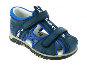 IQKIDS EVROS-150 Μπλέ Πέδιλο Για Αγόρι Με Μαλακό Πάτο – Μπλε – IQKIDS EVROS-150 BLUE-blue-26/4/10/75