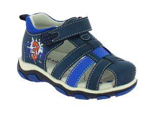IQKIDS FEROES-150 Μπλέ Πέδιλο Για Αγόρι Με Μαλακό Πάτο – Μπλε – IQKIDS FEROES-150 BLUE-blue-19/4/10/89
