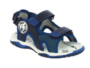 IQKIDS TIMOR-150 Μπλέ Πέδιλο Για Αγόρι Με Μαλακό Πάτο – Μπλε – IQKIDS TIMOR-150 BLUE-blue-25/4/10/74
