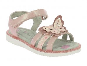 IQKIDS ZINNIA-150 Ροζ Πέδιλο Για Κορίτσια Με Πεταλούδα – Ροζ – ZINNIA-150pink-pink-25/4/12/74