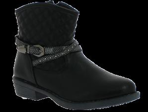 K-TINNI Κοριτσίστικο Μποτάκι KBN9521 30-35 Μαύρο – Μαύρο – KBN9521 BLACK -black-30/4/1/62