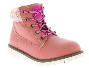 K-TINNI Κοριτσίστικο Μποτάκι KBN9506 25-36 Ροζ – Ροζ – KBN9506 PINK-pink-25/4/12/74