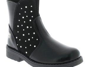 GIO72 Κοριτσίστικο Μποτάκι GG2040D6I.A 24-29 Μαύρο – Μαύρο – GG2040D6I.A BLACK -black-27/4/1/76