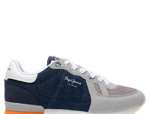 PEPE JEANS Sydney Sneaker 32-40 – Γκρι – PJ30442/10/2/7/64