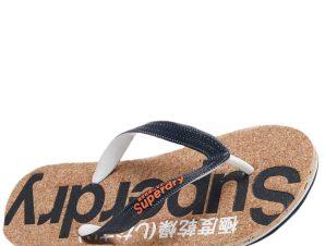 SUPERDRY Cork Flip Flop Σαγιονάρα S-L – Μπλε – SDWF310005A/09/2/10/370