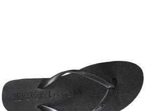 SUPERDRY Super Sleek Fluro Flip Flop Σαγιονάρα S-L – Μαύρο – SDWF310008A/02/2/1/368
