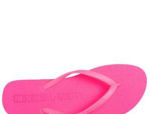 SUPERDRY Super Sleek Fluro Flip Flop Σαγιονάρα S-L – Φούξια – SDWF310008A/08/2/26/368