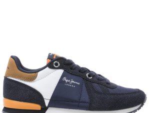 PEPE JEANS Sydney Sneaker 32-39 – Μπλε – PJ30452/09/2/10/64