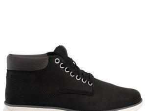 TIMBERLAND Bradstreet Leather Chukka Μποτάκι 41-46 – Μαύρο – TBA146Q/02/2/1/80
