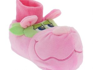 MAD HOUSE Κοριτσίστικα Παντοφλάκια DORI 22/28 Ροζ – Ροζ – DORI PINK-pink-22/24/4/12/339