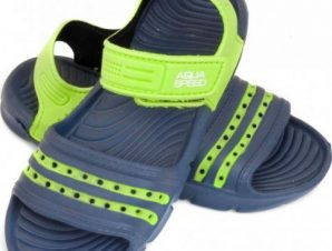 Aqua-speed Noli σανδάλια σκούρο μπλε πράσινο Παιδικό col. 48