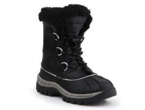 BearPaw Jr 1871Y Μαύρο γκρι παπούτσια