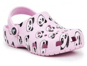 Crocs Classic Panda Print Clog Jr 206999-6GD