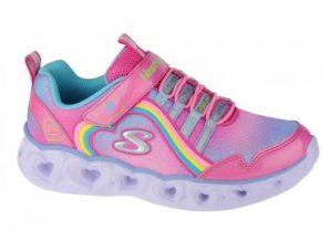 Skechers Heart Lights-Rainbow Lux 302308L-PKMT
