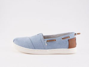 TOMS Navy Denim Kids' Espadrilles (9000051906_6707)